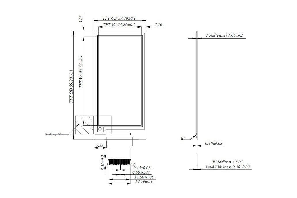 Zio E-Ink Display (2.1in, 2 Grey) 5