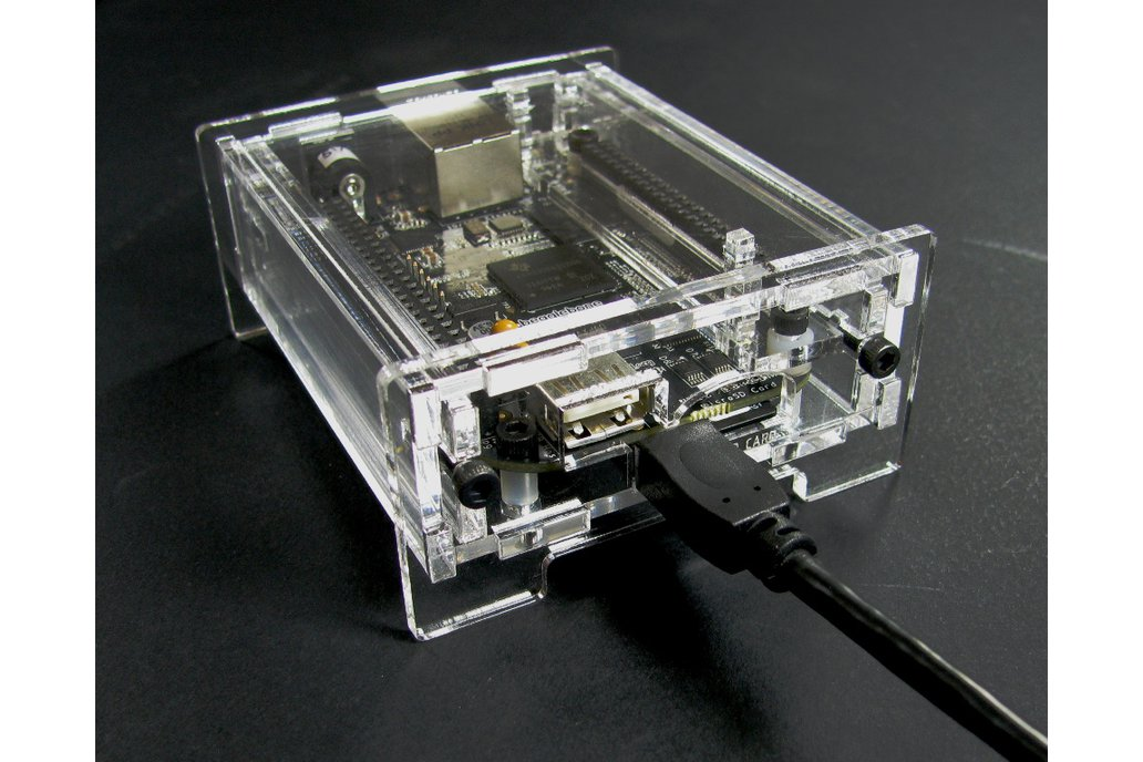 BeagleBone Black Enclosure - Clear Acrylic 4