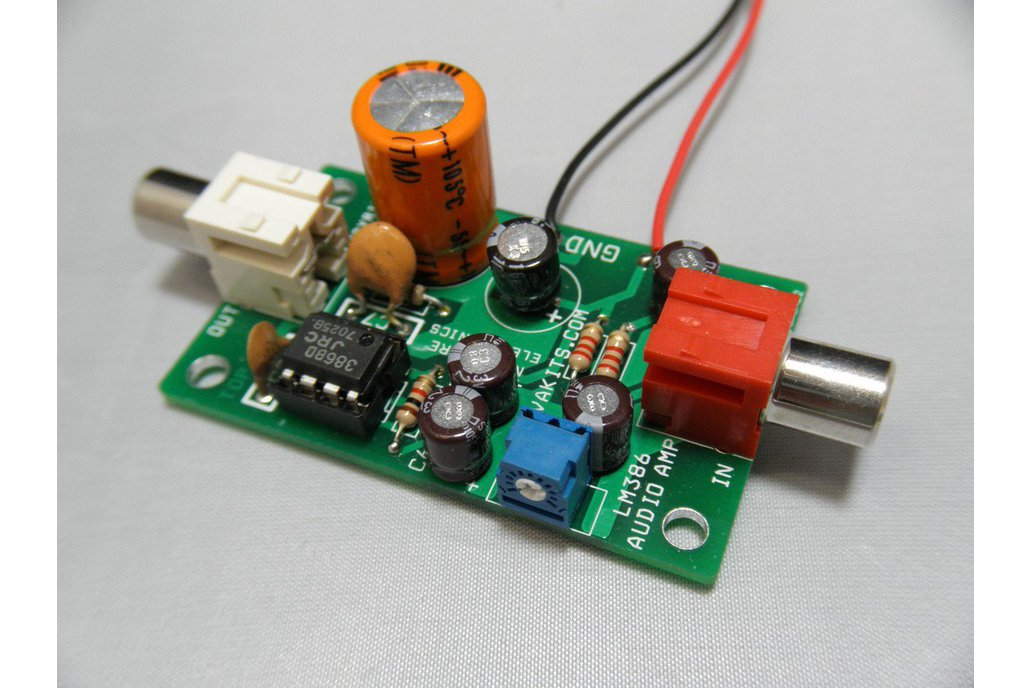 Electret Microphone Amplifier Kit (#1695-EM) 1