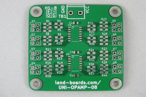 Universal Op Amp Card (UNI-OPAMP-08)