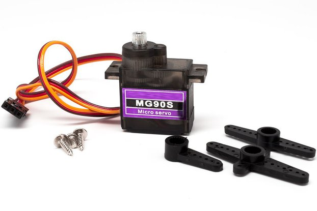 13g Metal Geared Micro Servo for RC and Drones