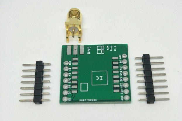 RFM95 or SX1276 LoRa™ Module PCB Breakout Board