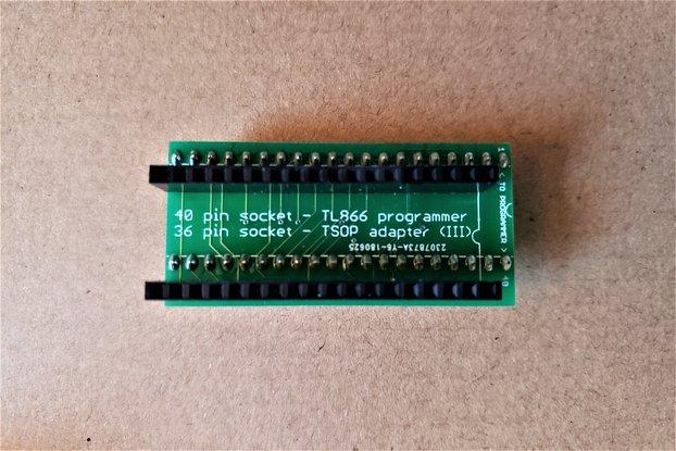 TSOP-to-SNES Programming Adapter (29F016/032/033)