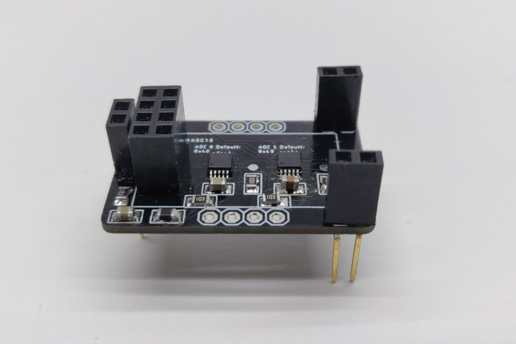 ESP8266-01  -  8 channel ADC expander (2x ADS1115) 1