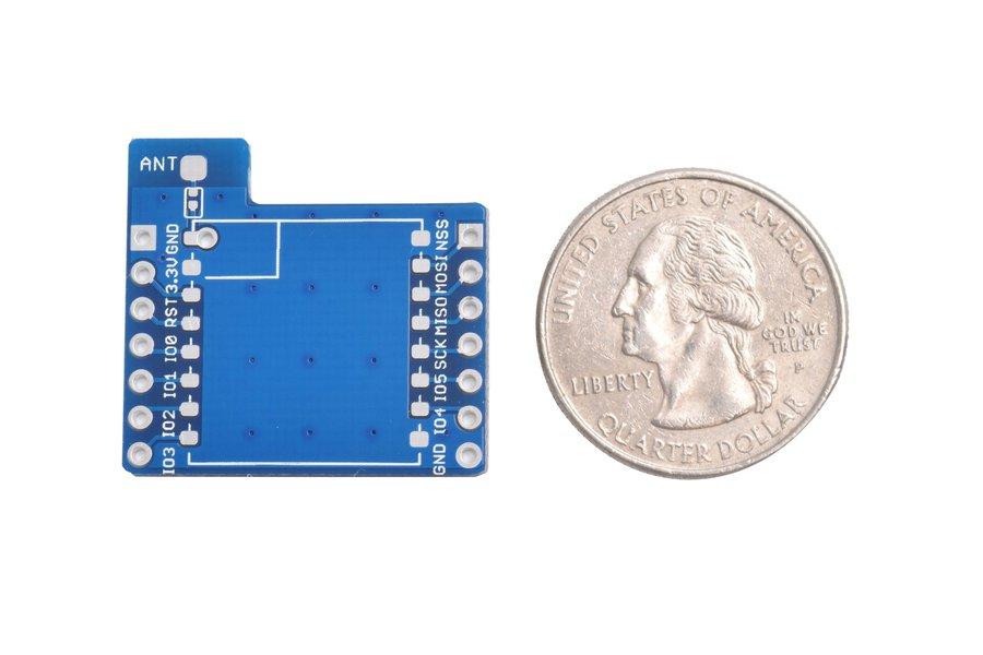 LoRa module adapter breakout board