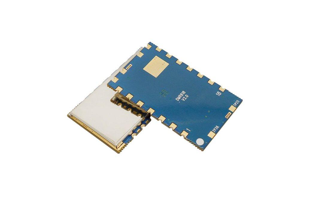 2pcs/lot  DMR818 2W Digital walkie talkie module 1