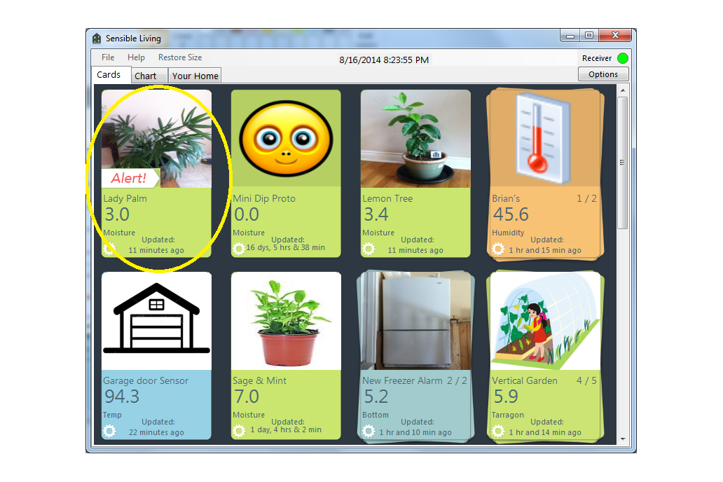 Mini-Plant Moisture Sensor 5