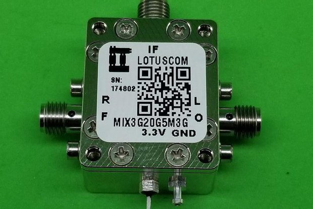 Frequency Mixer 3GHz to 20GHz RF (LTC5552)