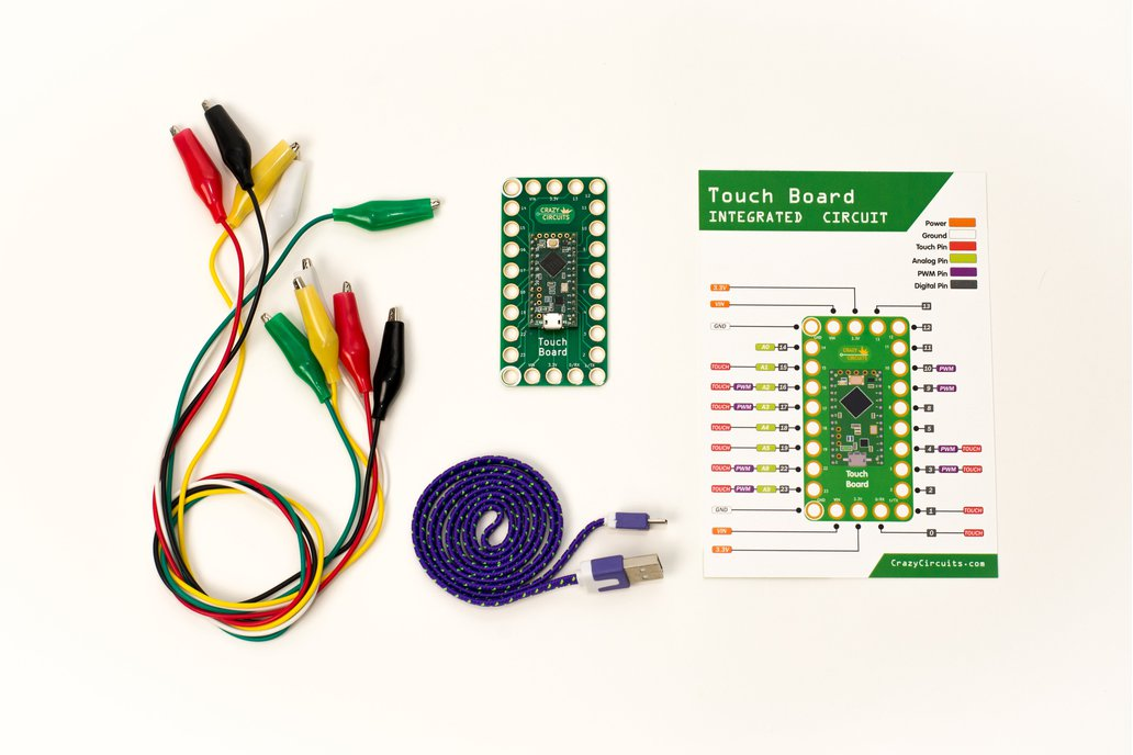 Crazy Circuits Touch Board 1