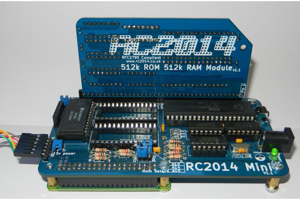 512k ROM 512k RAM RomWBW Module for RC2014 5
