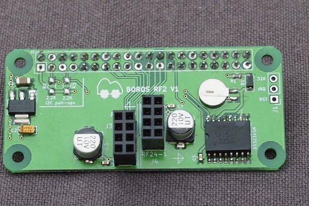 BorosRf2 - Dual nRF24L01 pHat/Hat + RTC for Pis