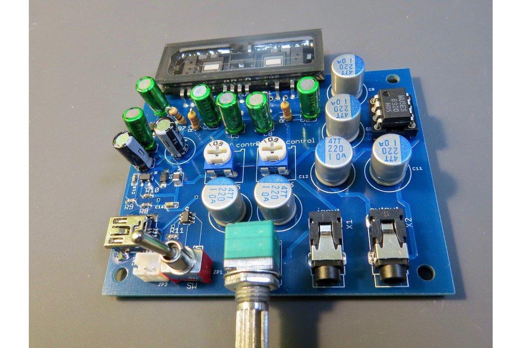 All NEW Nutube headphone amplifier 1