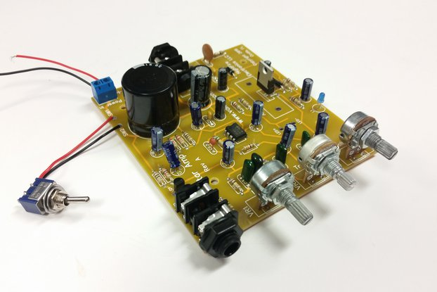 14-Watt Guitar Amplifier Kit (#5887)