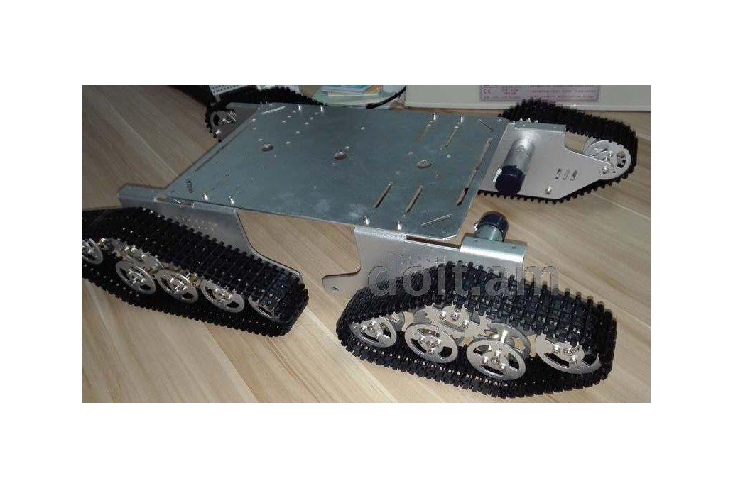 4WD Metal robot Wall-E Tank Track 5
