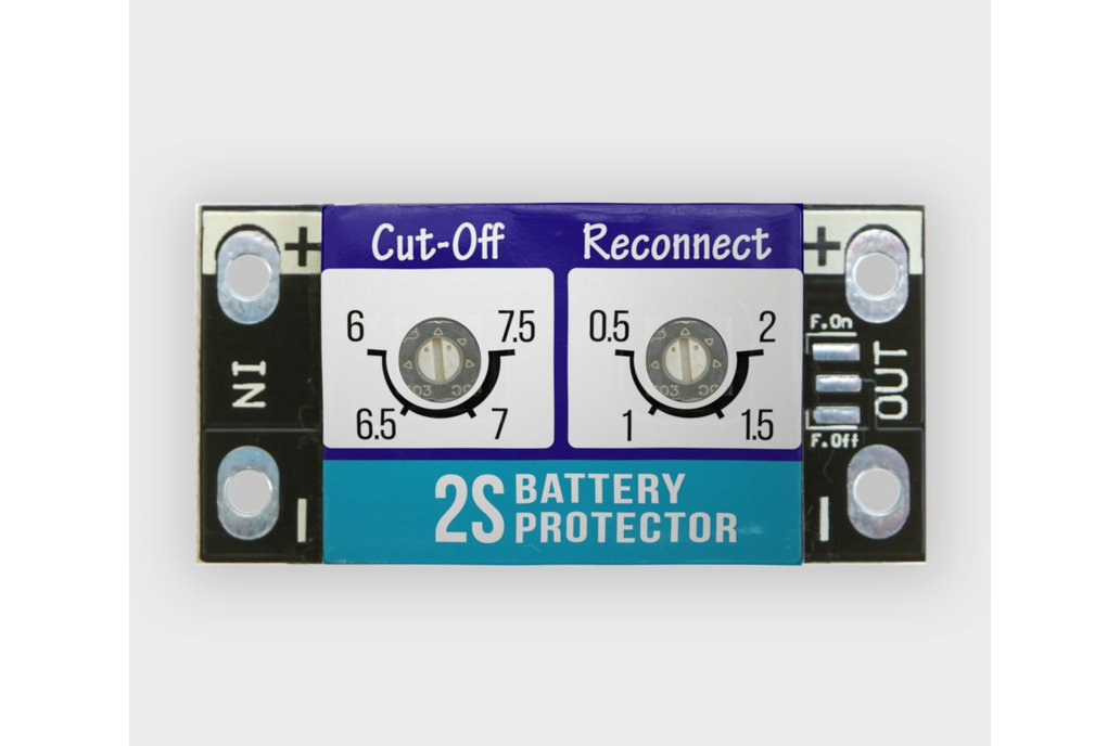 5A LiPO BATTERY PROTECTOR / LOW VOLTAGE CUT-OFF 1