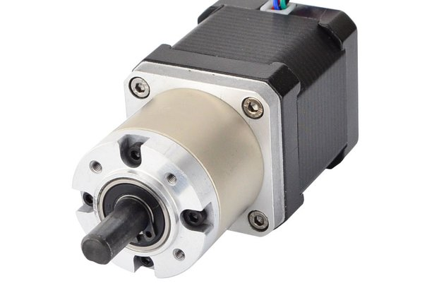 Nema 17 Stepper Motor 48mm Length w/ 27:1 Gearbox