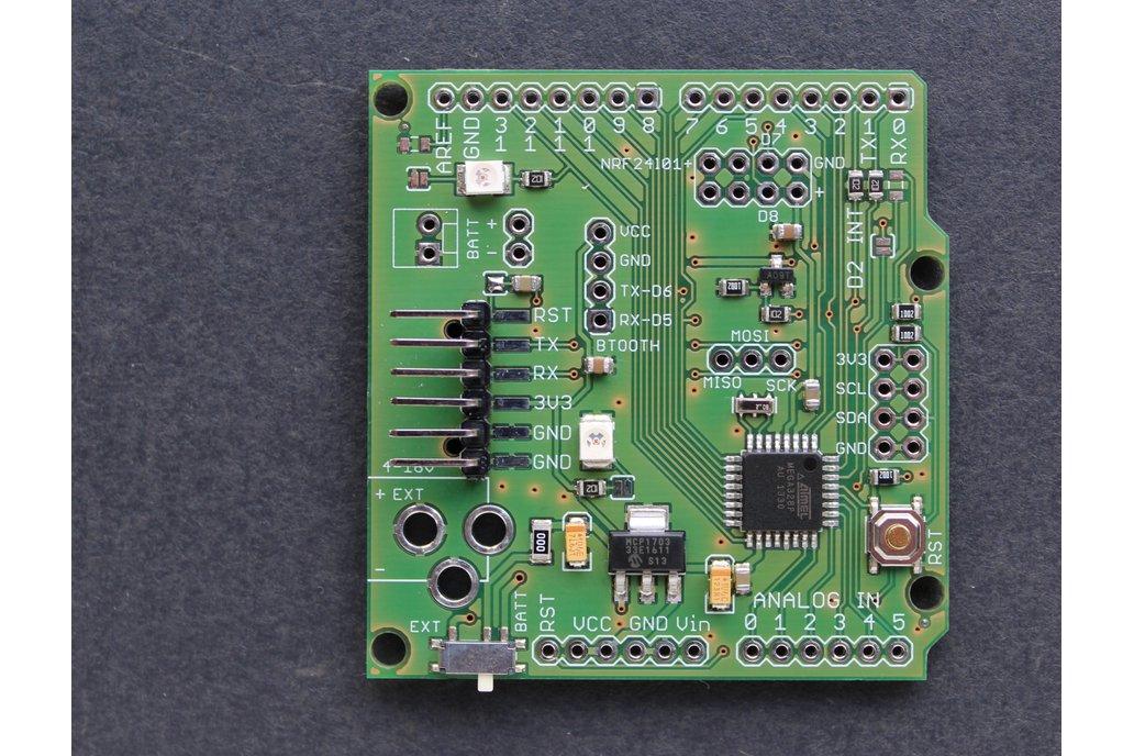 Wireless sensor board w/ ATmega328p 1