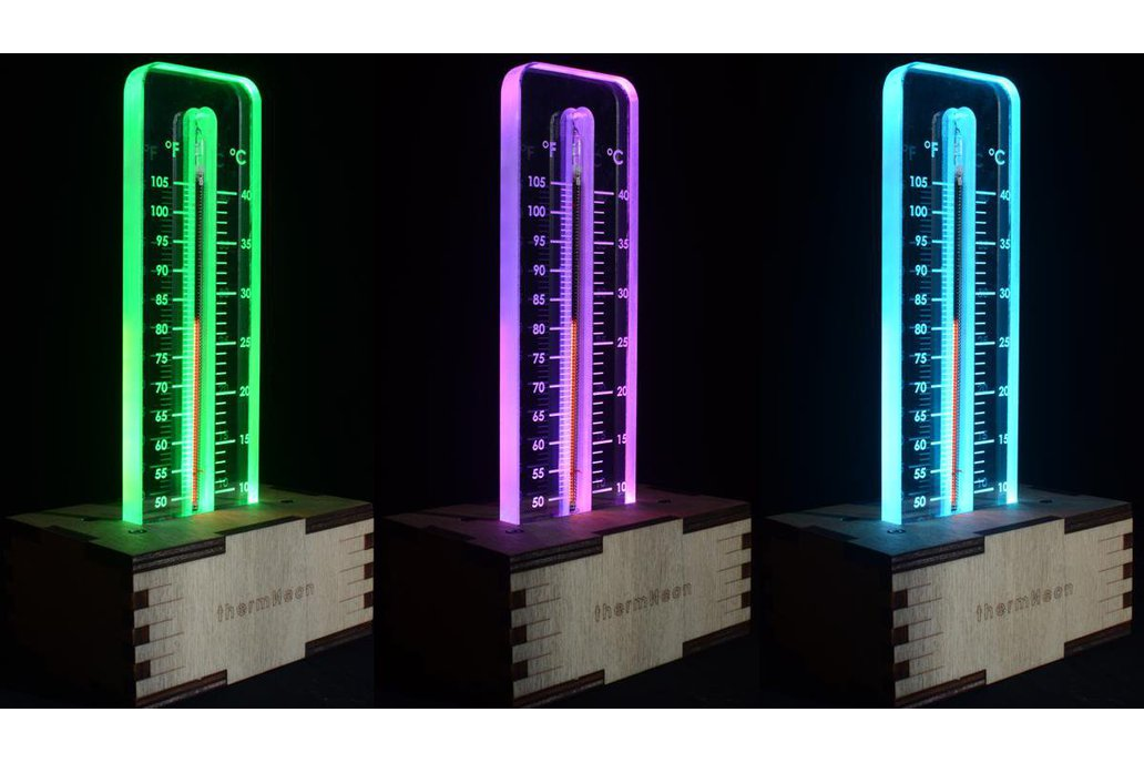 thermNeon - the neon nixie room thermometer 5
