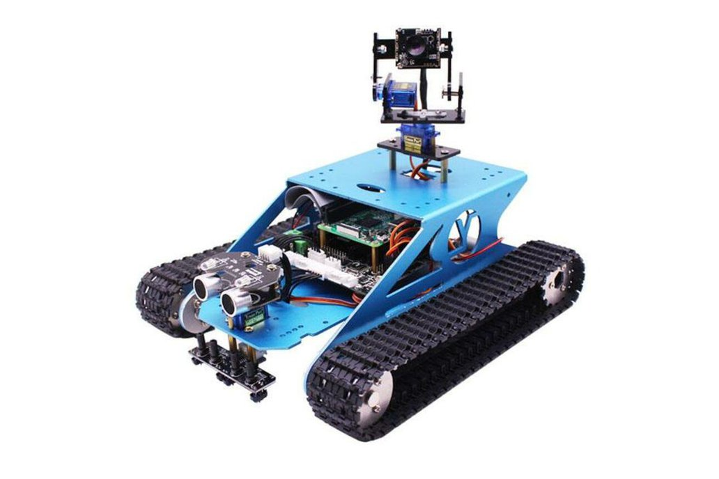 Tank Robot Kit with AI Vision for Raspberry Pi 1