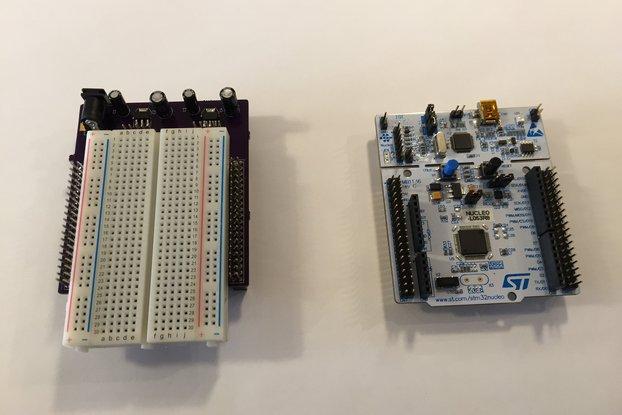 STM32 Nucleo Morpho Expansion Breadboard
