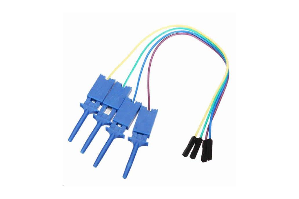 12Pc Test Clamp Wire Hook for Logic Analyzer 2