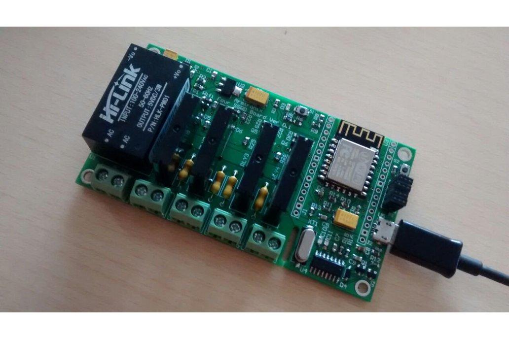 BA018:Wifi Quad SSR Board 1