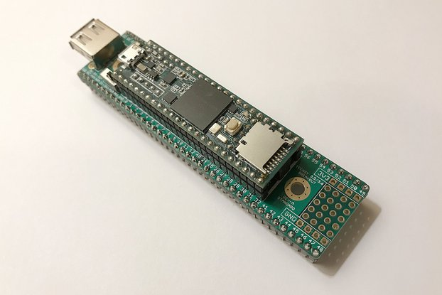 Teensy 3.5/3.6 Breakout (Revision A, Standard)