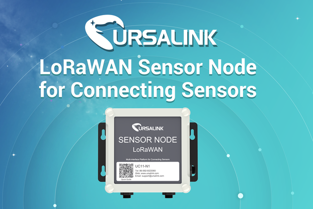 LoRaWAN Sensor Node for Connecting Sensors