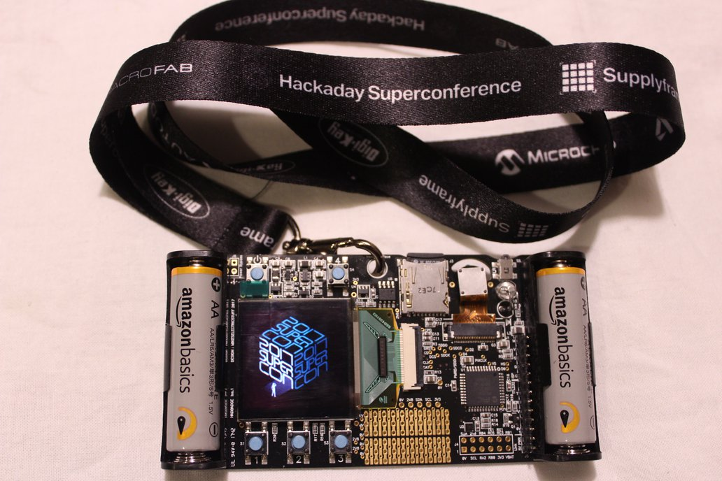 2017 Hackaday Superconference Badge 1