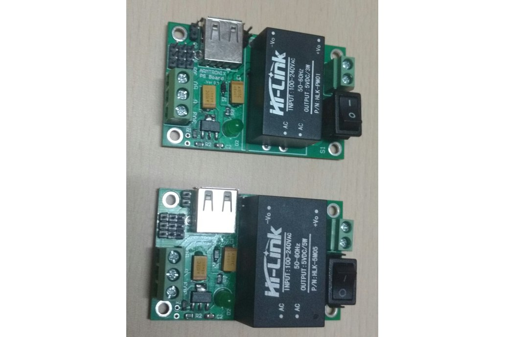 AC-DC 220V to 5V 3.3V/600mA 3W Power Supply Module 4