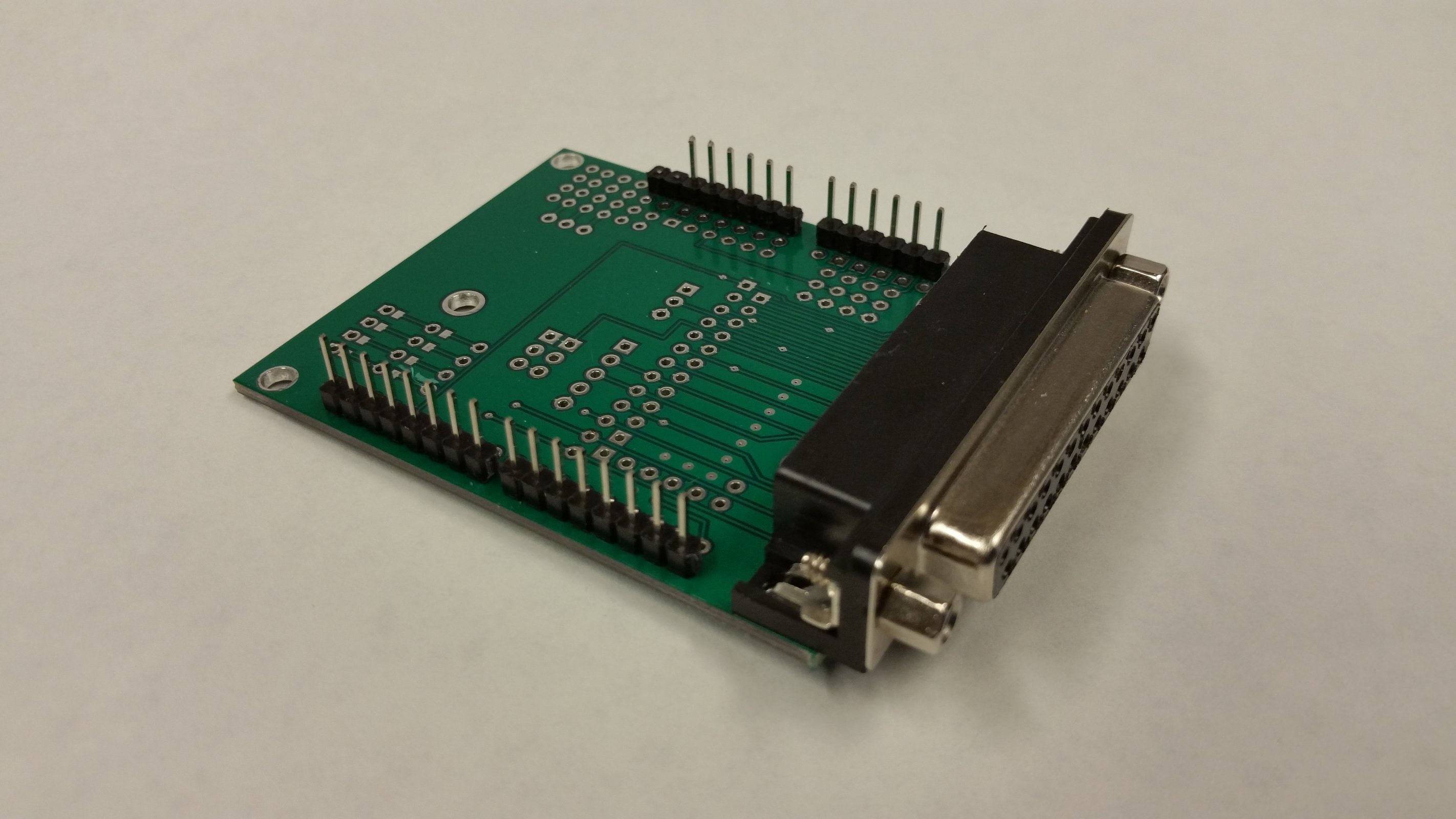 Arduino Grbl To Db25 Cnc Shield Kit From Ron On Tindie Usb Cable Schematic 3