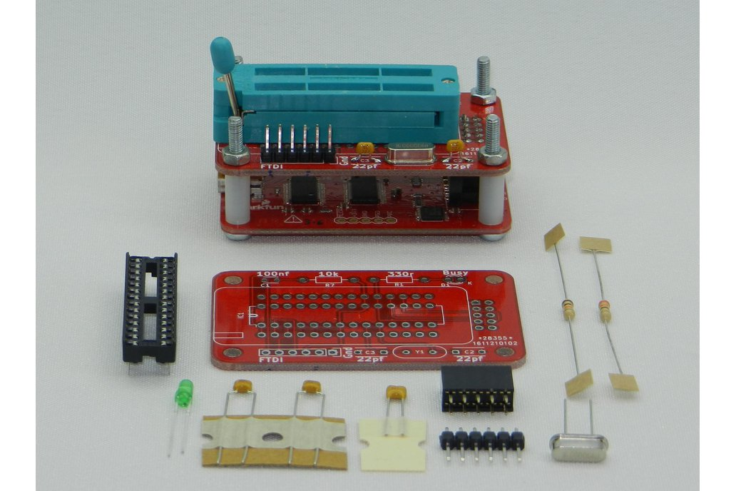 ATMEGA328 Programmer for Bus Pirate 3.6 4