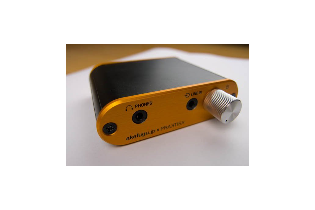 cMoy Headphone amplifier with deluxe enclosure 1
