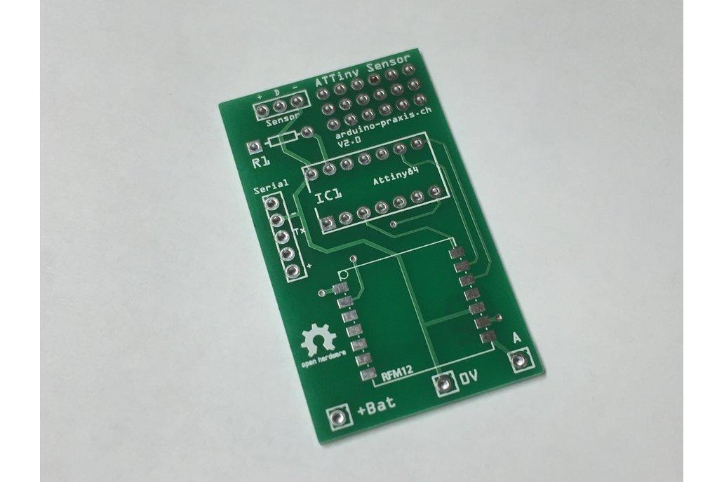 ATtiny Sensor Node PCB 1