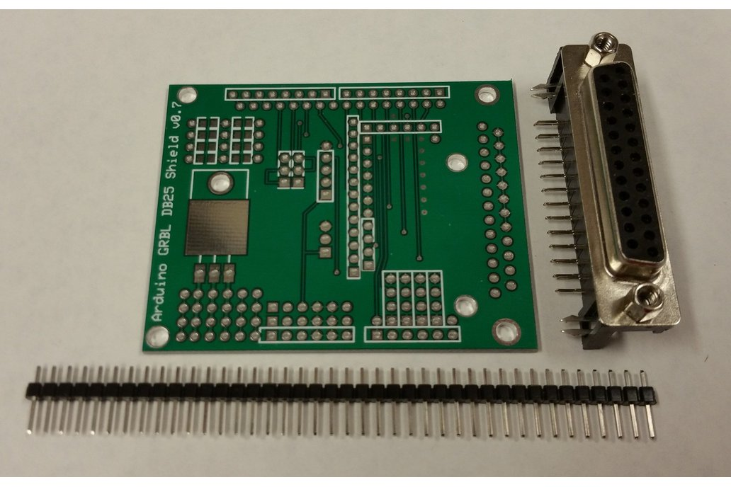 GRBL to DB25 CNC Shield With Arduino UNO R3 2