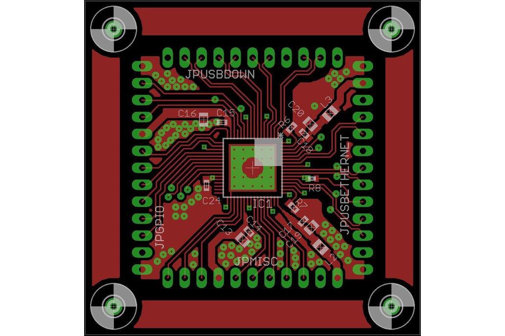 LAN951X USB (-HUB), Ethernet & GPIO adapter board 13