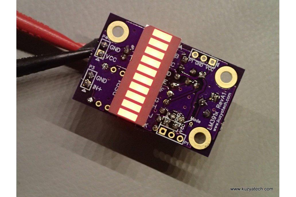 LM3916 LED bargraph/ VU meter - pick your color 4