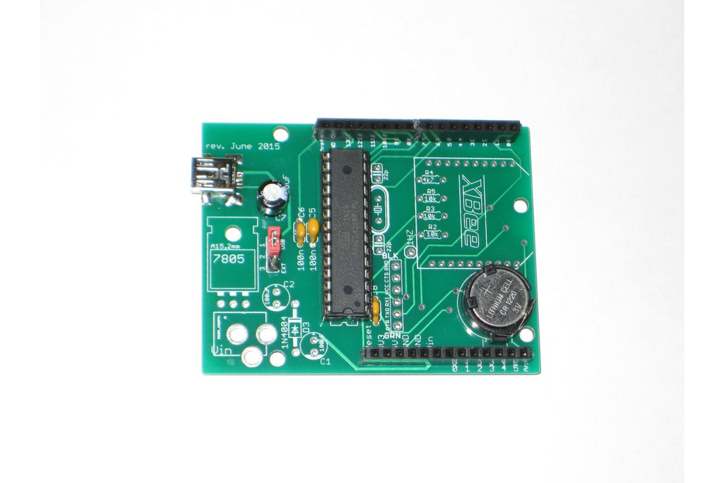 wsduino - an Arduino-compatible with onboard RTC 1