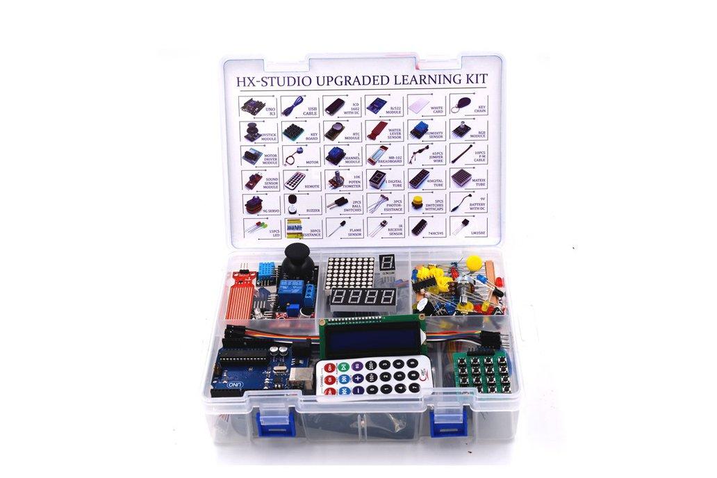 Arduino uno r rfid starter kit from robotart on tindie