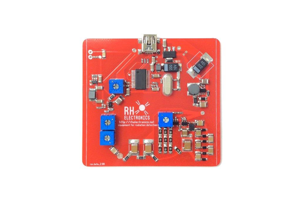 USB Driver for Hobby Gamma Spectroscopy 1
