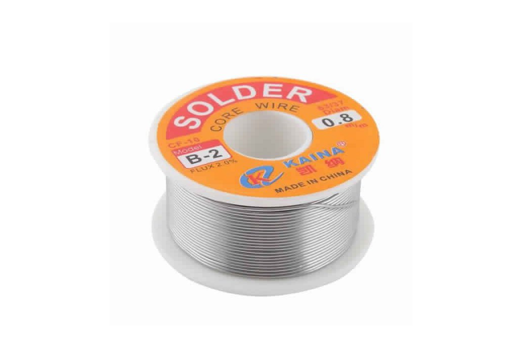 63/37 0.8mm Tin Lead Rosin Core Solder Wire 1