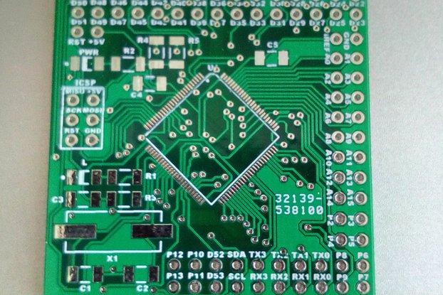 Bare Mega 2560 board Kit