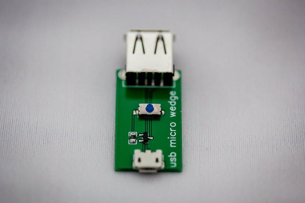 USB micro wedge - 5V interruptor 1