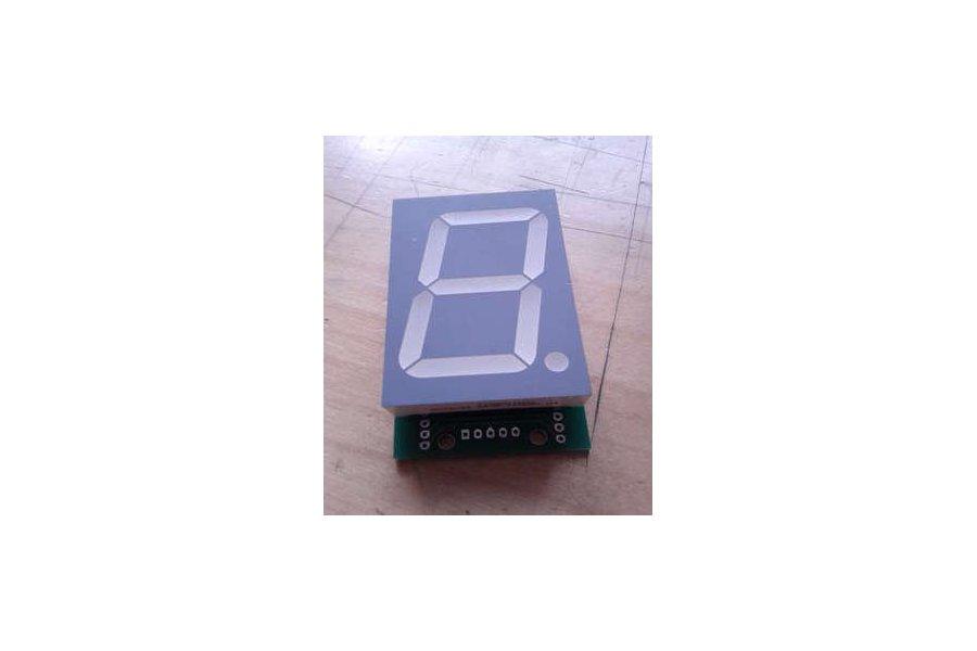 Large 7-segment LED unit