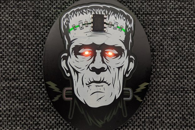 Frankenstein Electronic Pin