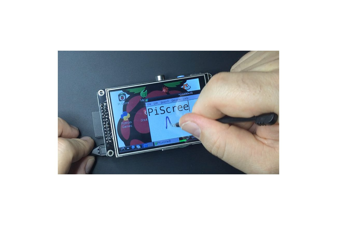 """PiScreen:3.5"""" TFT with touch for the Raspberry Pi"""