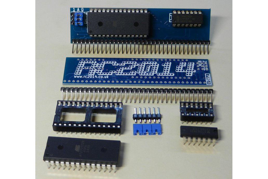 ROM Module For RC2014 - Z80 Homebrew Computer 1