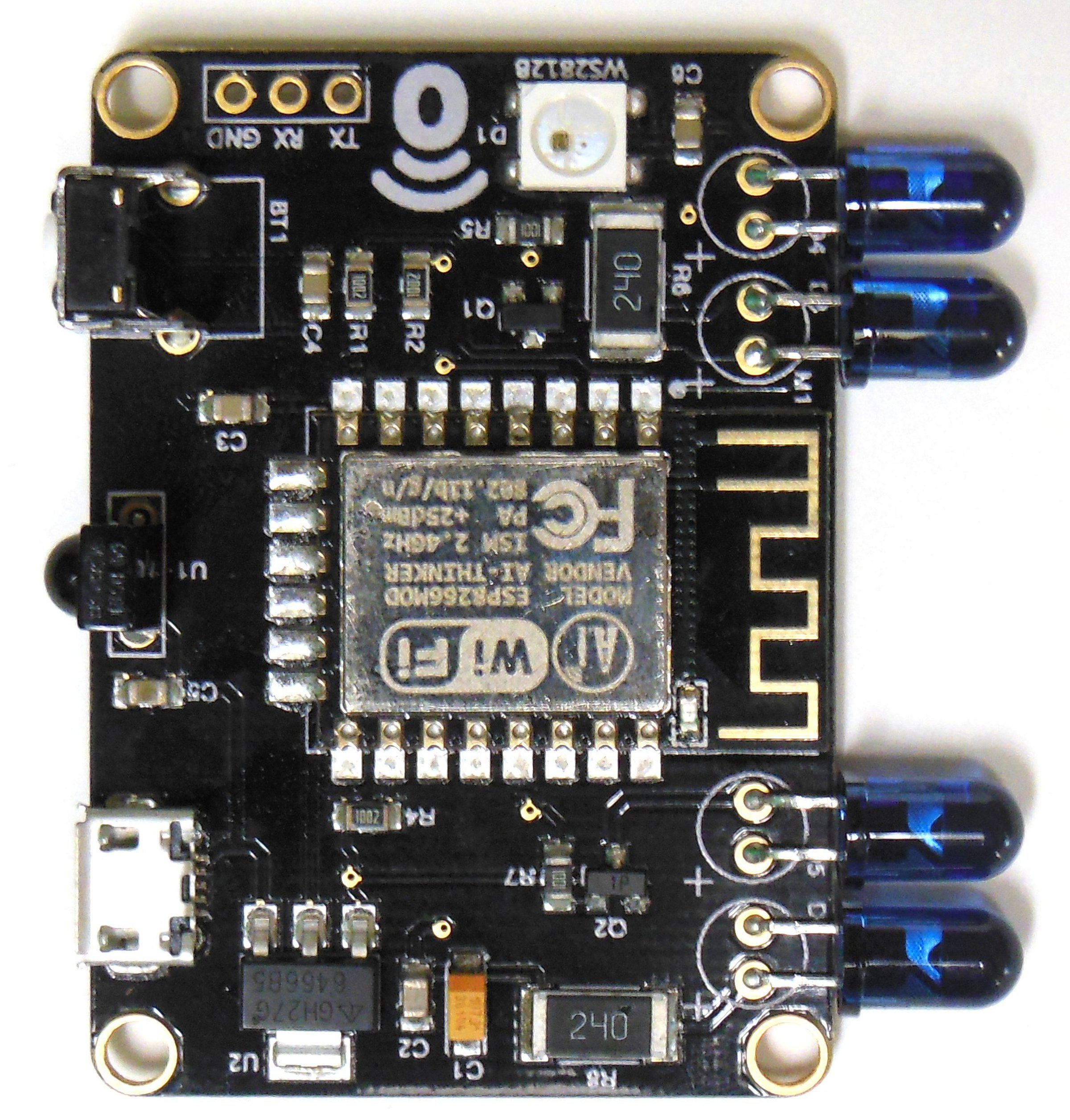 Remotsy Pcb Infrared Blaster From On Tindie Remote Control Transmitter Integrated Circuit 1