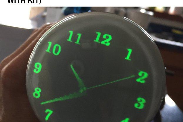 Oscilloscope Clock Kit for many CRT types OSC7.0