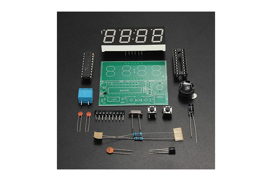 Electronic Clock DIY Kit 2
